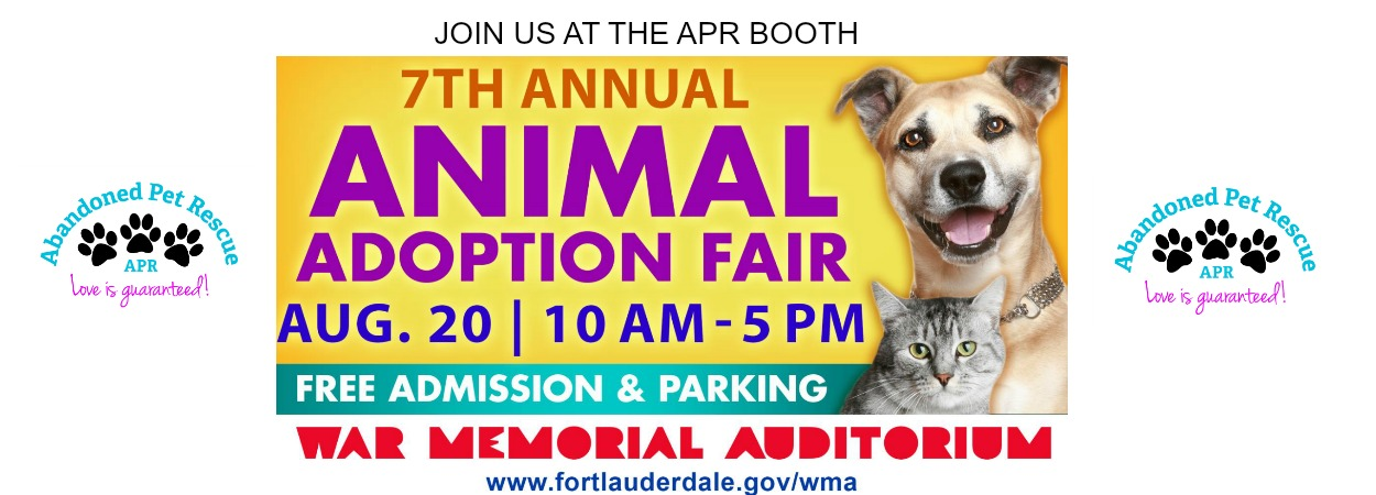 MARQUEE ANAIMAL ADOPTION FAIR 2017