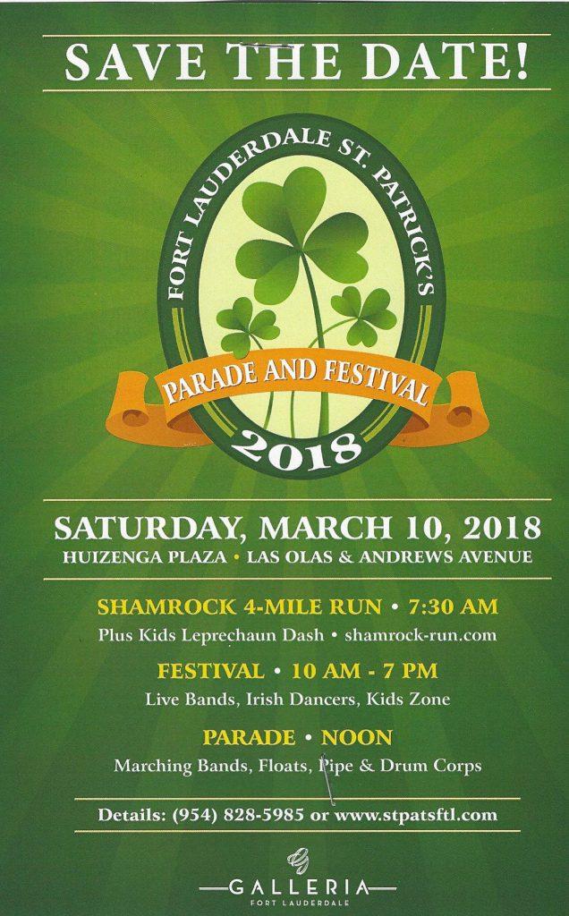 2018 St. Patrick's Day Festival @ Huizenga Plaza | Fort Lauderdale | Florida | United States