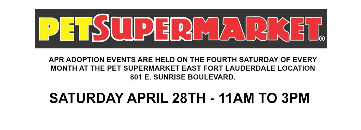 2018 APRIL PETSUPERMARKET MARQUEE