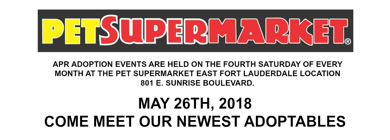 2018 MAY PETSUPERMARKET MARQUEE