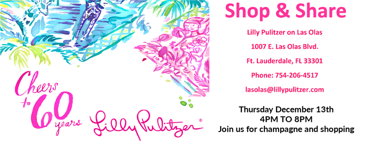 Shop & Share - Lilly Pulitzer Las Olas @ Lilly Pulitzer | Fort Lauderdale | Florida | United States