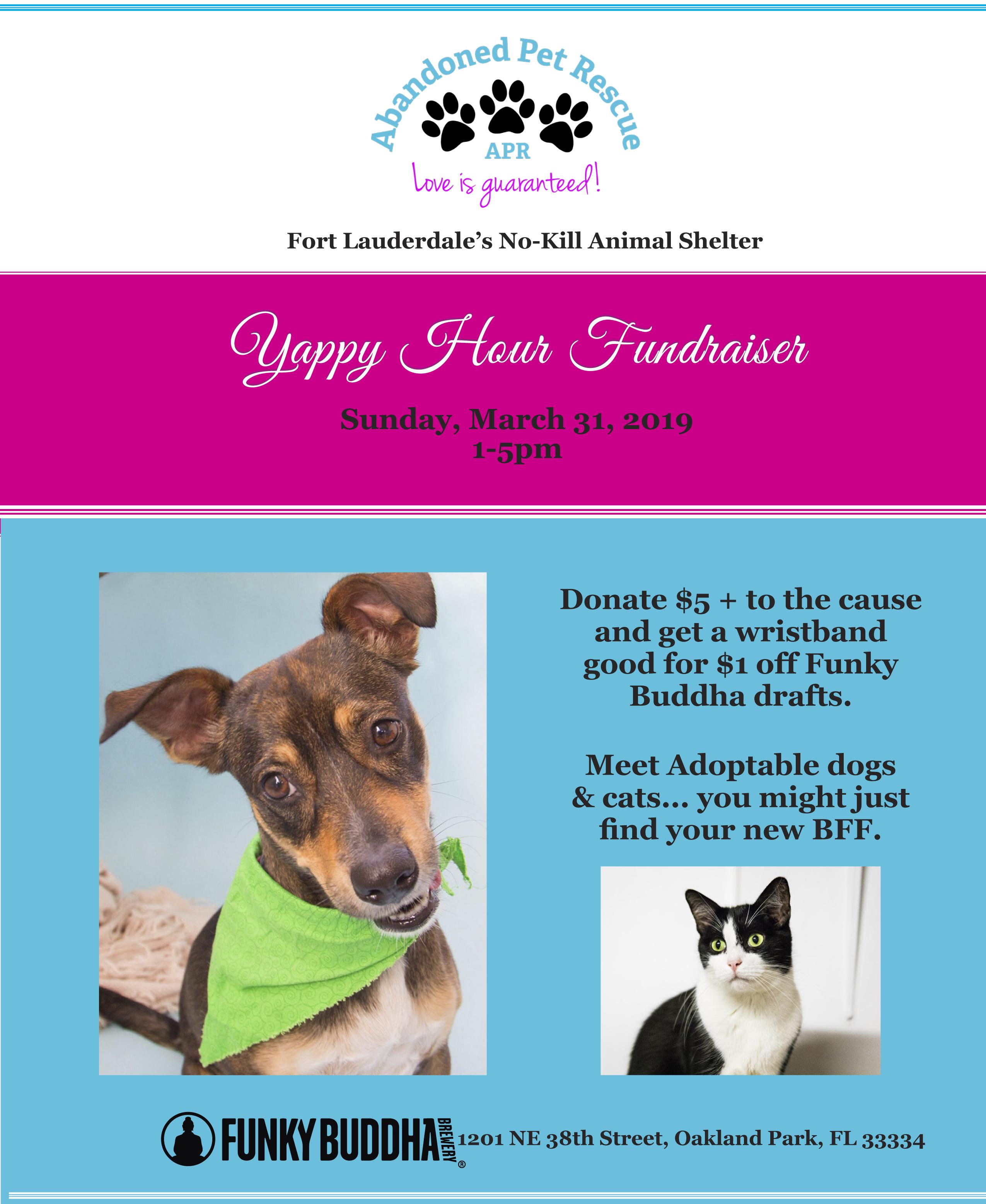 FUNKY BUDDHA YAPPY HOUR 3/31/19 @ FUNKY BUDDHA | Oakland Park | Florida | United States
