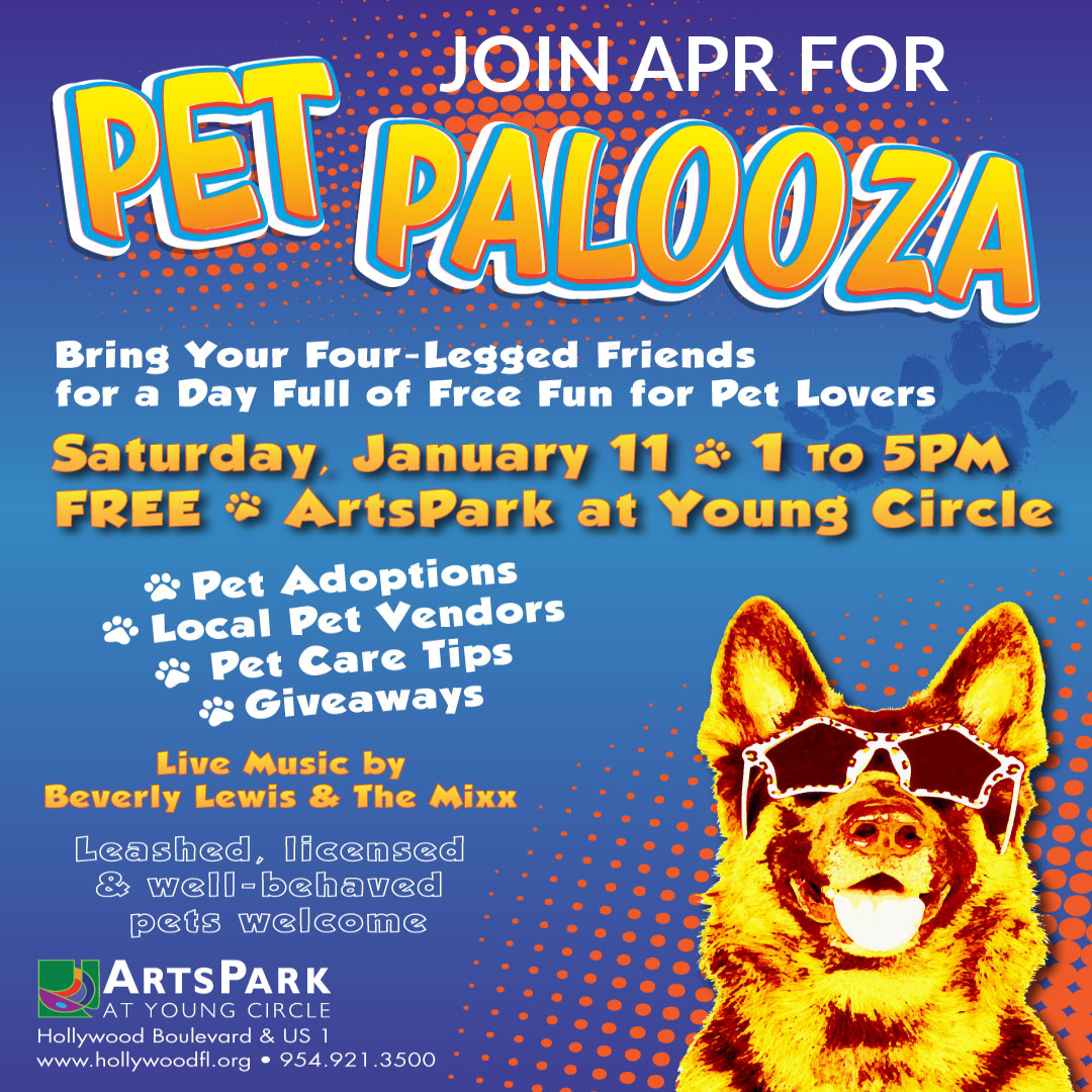 PET PALOOZA (1/11) @ Arts Park At Young Circle | Hollywood | Florida | United States