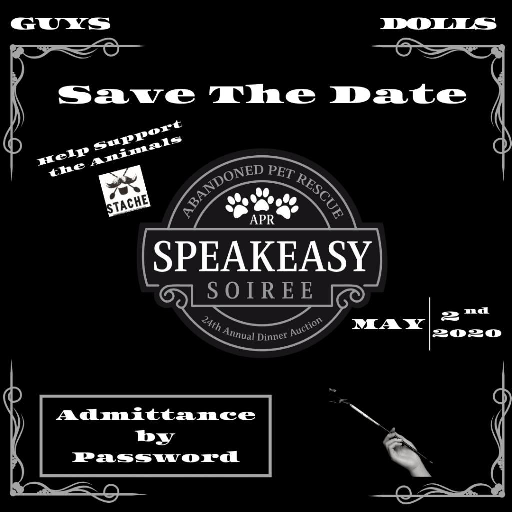 Speakeasy Soiree (5/2/20) @ Stache Drinking Den + Coffee Bar | Fort Lauderdale | Florida | United States